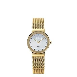 Skagen Women's Analog Quartz Quartz Watch with 358SGGD (B0000C9ZCY) | Amazon price tracker / tracking, Amazon price history charts, Amazon price watches, Amazon price drop alerts