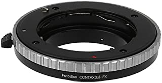 Fotodiox Lens Mount Adapter Compatible with Contax G SLR Lens on Fuji X-Mount Cameras