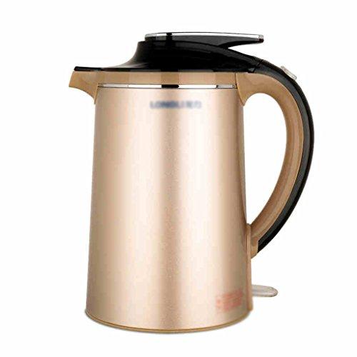 Or bouilloire électrique domestique 304 acier inoxydable isolation thermique de l'eau automatique Puissance Bouilloire