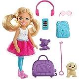 Barbie Chelsea Doll & Travel Fun