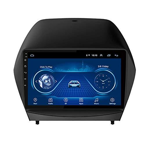 Android 8.1 2.5D IPS 4 Core(8 Core) Auto DVD Radio GPS Navegación para Hyundai IX35 2010 – 2015 9 pulgadas Stereo Audio Navegador con Bluetooth llamadas WiFi Pantalla táctil