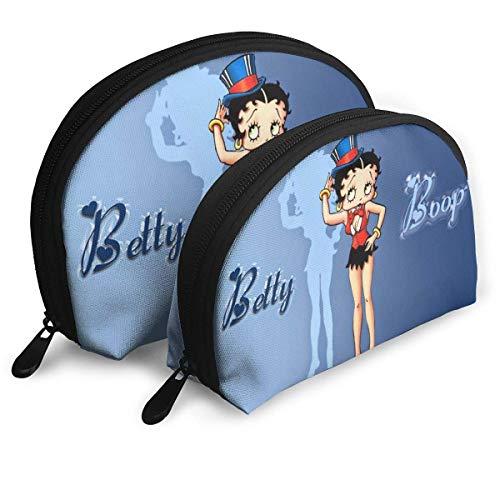 Betty Boop Bolsa de almacenamiento de cosméticos profesional, bolsa de viaje, bolsa de aseo de belleza, bolsa organizadora para mujer