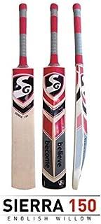 SG Sierra 150 English Willow Cricket Bat SH Grains 5-7 Clere Grains & Weight 1180-1250 gm 100% Original