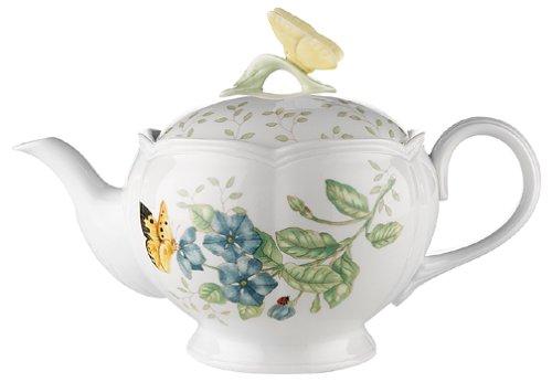 Lenox Butterfly Meadow Teapot, 2.8 LB, Multi