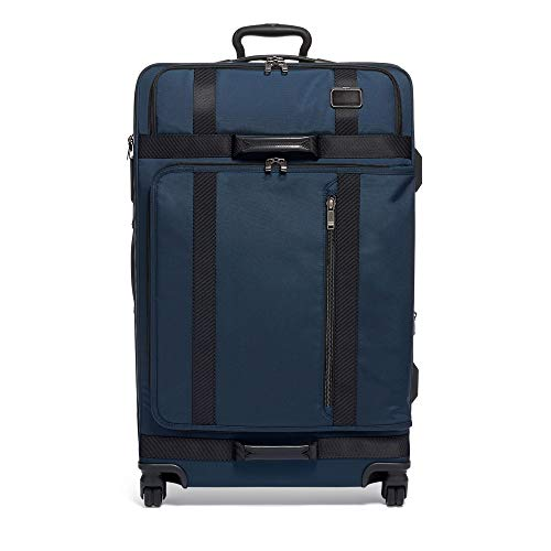 TUMI - Merge Extended Trip Expandable Packing Case Large Suitcase - Rolling Luggage for Men and Women - Navy