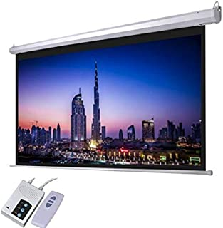 AES120D ( Alpha 120 Inch Diagonal Electric Screen 240x180cm with RF Remote, 4: 3 Ratio, HD fabric, Tubulat Motor)