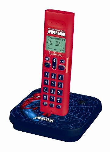 Lexibook DP170SPi1 Spiderman Téléphone sans fil DECT Mains-libres
