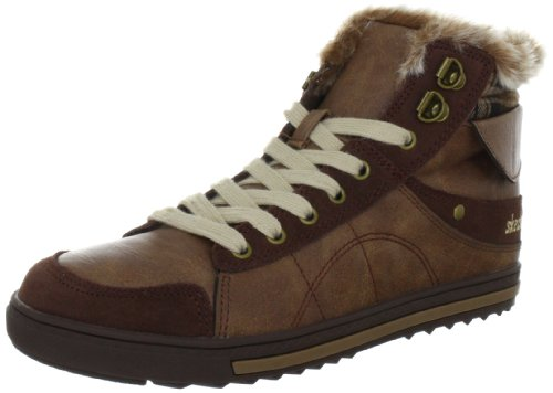 Skechers KicksCoolest, Damen Sneakers, Schwarz (BLK), 36 EU (3 Damen UK)