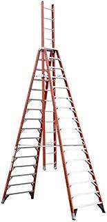 Werner, E7416, 16' Fiberglass 300 Lb. Trestle Extension Ladder, Type Ia
