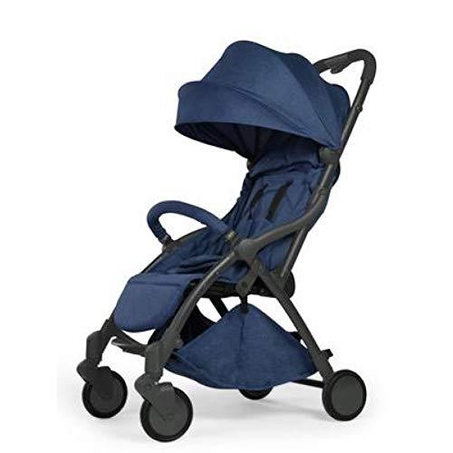 GSERA Cochecito plegable automático Cochecito de bebé portátil Sistema de viaje 2 en 1 Cochecito...
