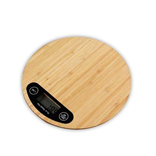 Professionele Touch Digitale Keukenweegschaal Bakken Kleine Mini Draagbare Taart Maken Elektronische Weegschaal Bamboe Paneel Elektronische Keukenweegschaal, Het Geheim Van Een Heerlijke Keuken
