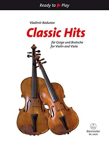 Classic Hits für Geige und Bratsche