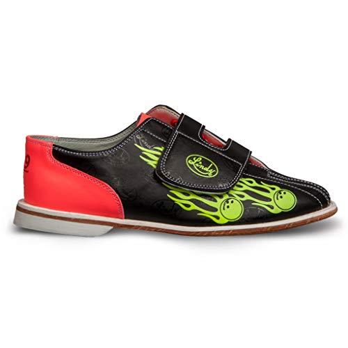 Linds Bowling-Schuhe für Herren, mit Klettverschluss, Größe 40