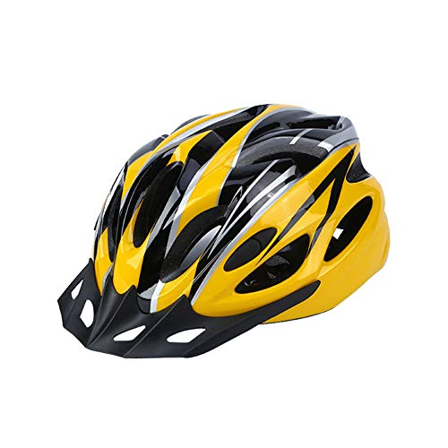 FAROOT Unisex Adult Bike Helmets, Adjustable Size Savant Road Bicycle Helmet Safety Riding Helmet Specialized Road Bike Helmet Accessories for Men Women Riding Road Cycling Mountain Biking (Yellow)