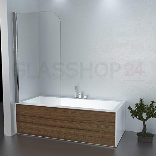 glasshop24 Badewannen Duschaufsatz - Duschabtrennung