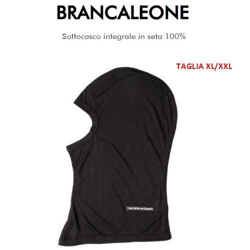 Slaapbank VISO halsband Tucano Urbano 651 maat XL-XXL onderlegger van 100% leer zwart compleet plat en koud