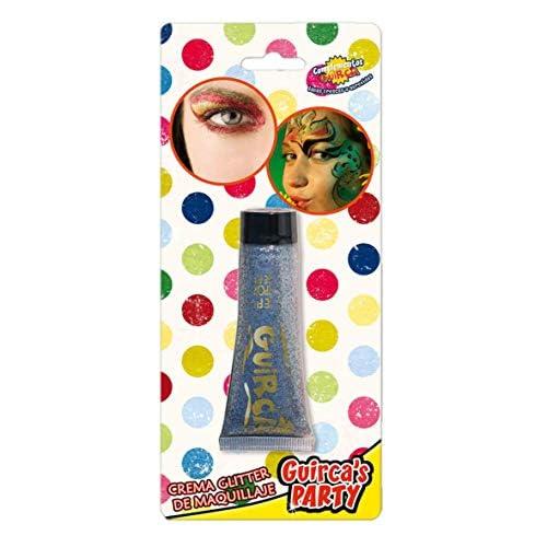 Fondotinta Maquillage - Make Up Brillantini Glitter Gel Argento 20 ML