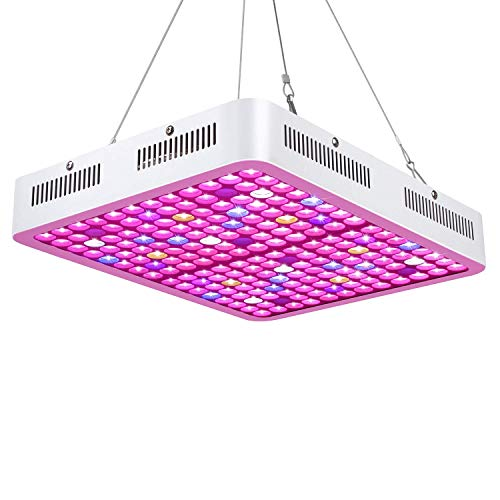 LED Pflanzenlampe 1500W Roleadro LED Grow Light Full Spectrum Pflanzenlicht für Zimmerpflanzen Gemüse und Blumen Pflanzenleuchte