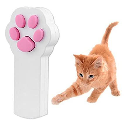 WINOMO Zampa Stile Gatto Cattura L'interattivo Luce LED Puntatore Esercizio Chaser Giocattolo Animale Graffiare Strumento di Formazione