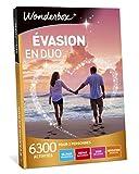 Wonderbox - Coffret cadeau - EVASION EN DUO - 6300 séjours romantiques, repas délicieux, soins relaxants ou sensations sportives