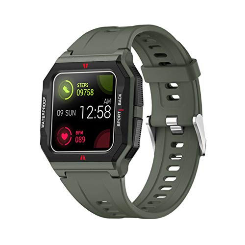 YDK FT10 Men's Smart Watch 2021 IP68 IP68 Impermeable Monitor De Ritmo Cardíaco para Niños Smartwatch Fitness Tracker (para Teléfonos iOS De Android),C