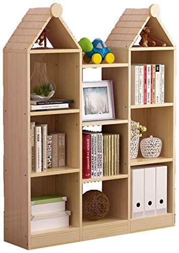 Agoni Boekenkast Boekenkast Huis Vloer Massief Hout Boekenkast Kinderen S Boekenkast Opslag Display Kast Woonkamer