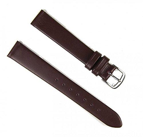 Eulit Ersatzband Uhrenarmband Leder Nappa Rotwein 14mm 34111442