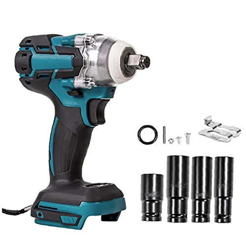 18V Electric Wrench Cordless Drill Screwdriver Brushless Impact Wrench with Screw Sockets Power Tool Power Tools