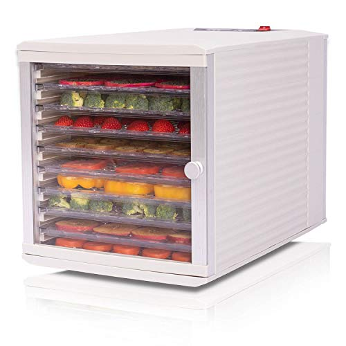 Cheapest Price! JAYETEC Professional Food Dehydrator, 10-Trays with Digital Thermostat and Timer, fr...