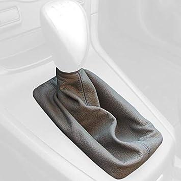 Redlinegoods Schaltsack Manschette 1 Kompatibel Mit Fiesta 2011 19 Alcantara Schwarz Stich Rot Auto