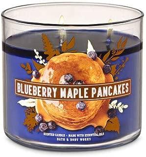 BBW Blueberry Maple Pancakes 3 wick candle 14.5 oz