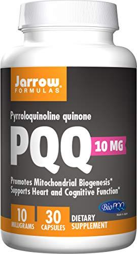 Jarrow Formulas Jarrow Pyrroloquinoline Quinone PQQ (10mg, 30 Capsules), 1 Units