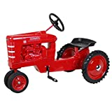 Scale Models - Dyersville Diecast International Harvester Farmall M with White Grill Stripes Full Size Narrow Front Pedal Tractor ZSM1215