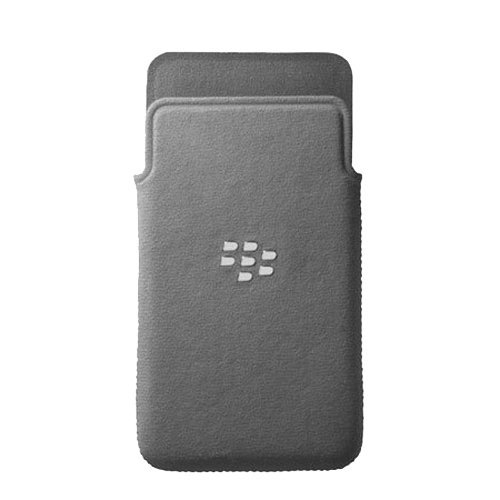 BlackBerry Custodia a Fondina in Microfibra per Z10, Grigio