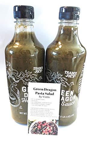 Trader Joes Green Dragon Hot Sauce - Pack of 2 - SET OF 2