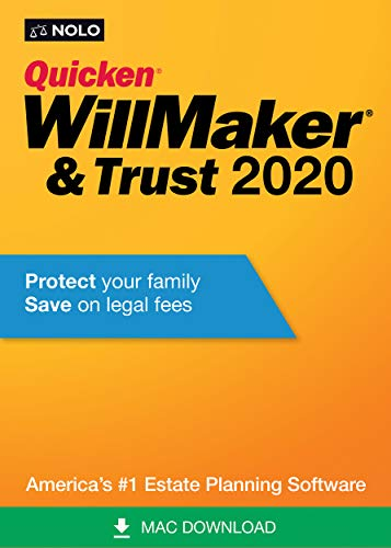 Quicken WillMaker & Trust 2020 [Mac Download]