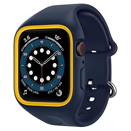 Caseology Apple Watch ケース 40mm TPE バンド一体型 さらさら 耐久性 Series 6 / SE / 5 / 4 ナノ・ポッ...