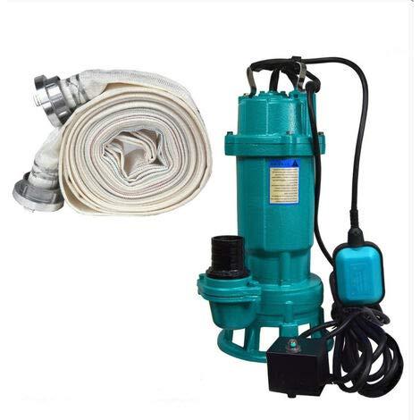Bomba de aguas residuales + triturador FURIATKA1100+20M, 1100 W 230 V manguera 20 m