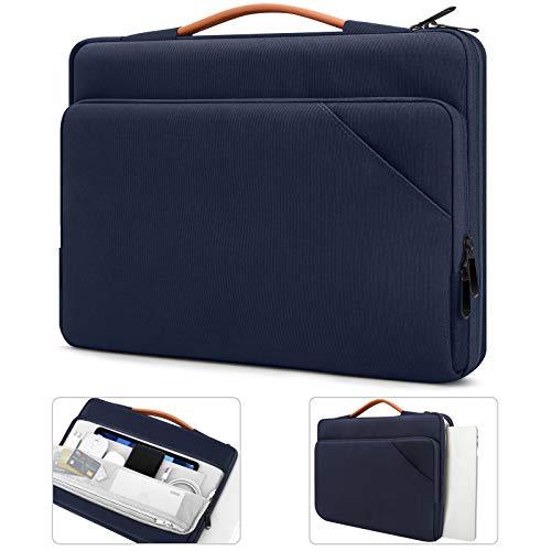 TiMOVO 13.3 Pollici Laptop Tablet Custodia con Maniglia Compatibile con iPad PRO 12.9 2020 2021, MacBook Air 13 Pollici, MacBook PRO 13 , Galaxy Tab S7+, Surface PRO X 7 6 5 4 3, Indaco