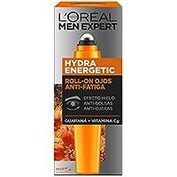 L'Oréal Paris Men Expert Hydra Energetic Roll-On Ojos Anti-Bolsas + Anti-Ojeras con 2 Vitaminas - 10 ml
