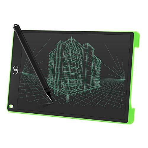 ZXCWE DIY 12 Zoll Zeichenbrett, Bunte LCD Schreiben Tablet, Grafik Tablet Lock-Key Handschrift Doodle Zeichnung Pad Kinder Spielzeug Geschenke Für Jungen Mädchen