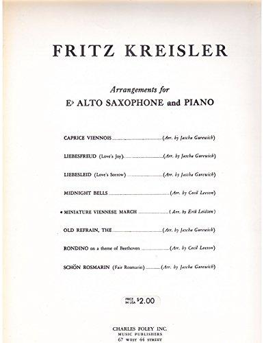 Miniature Viennese March - Eb Alto Saxophone Solo with Piano Accompaniment