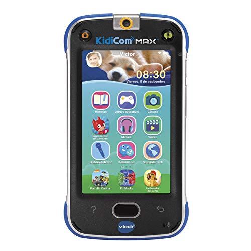 Vtech–Téléphone multifonction kidicom Max bleu - version Espagnole