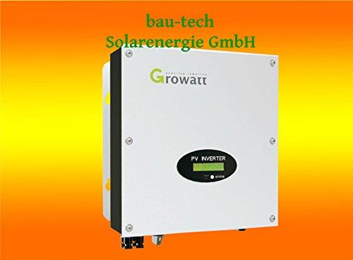 Growatt 4200MTL-S Wechselrichter mit 2 MPPT für 2 verschiedene Dachausrichtungen von bau-tech Solarenergie GmbH