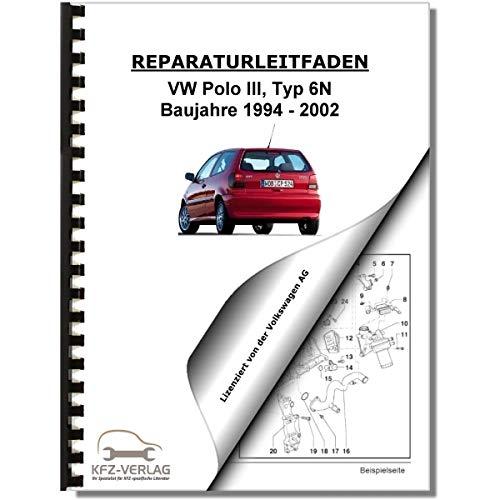 VW Polo 3, Typ 6N (94-02) Inspektion, Wartung, Pflege - Reparaturanleitung