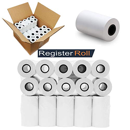 "2-1//4/"" x 230/' 12 NEW ROLLS  *FREE SHIPPING* THERMAL PAPER SHARP XE-A207"