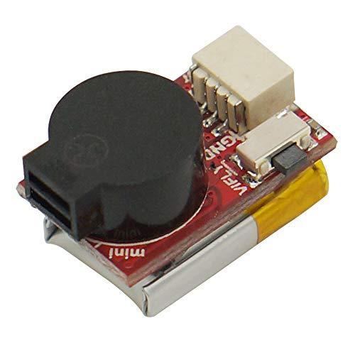 VIFLY Finder Mini Buzzer per Micro Racing FPV Drone con Batteria per Costruzioni compatte e Piccoli droni