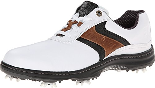 FootJoy 2016 Mens Contour Plain Toe Saddle Golf Shoes, Previous Season Styles (8 D(M) US,...