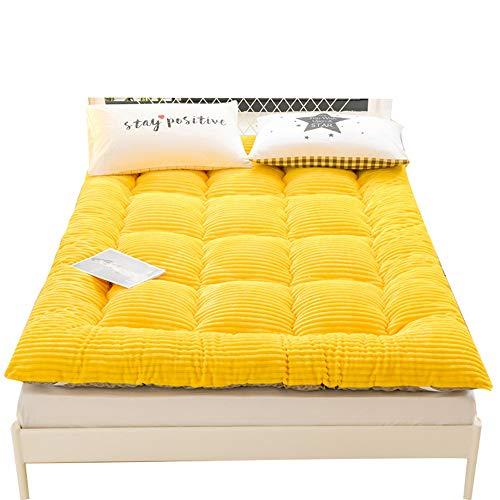 ZLBIN Futon Mattress,Tatami Mattress,milk Cashmere Japanese Floor Mattress Foldable Winter Soft Thicken Futon Mattress For Bedroom,90 * 200cm