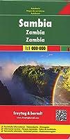 Zambia Road Map 1:1 000 000